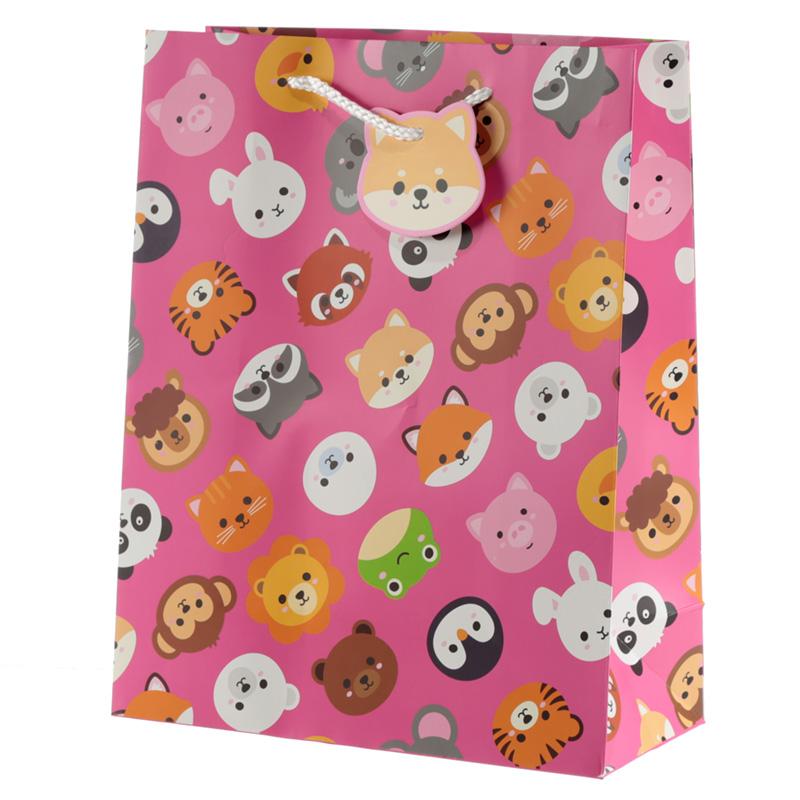 Cutiemals Cute Animal Design Large Gift Bag