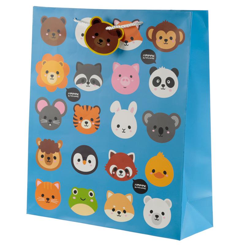 Cutiemals Cute Animal Design Extra Large Gift Bag