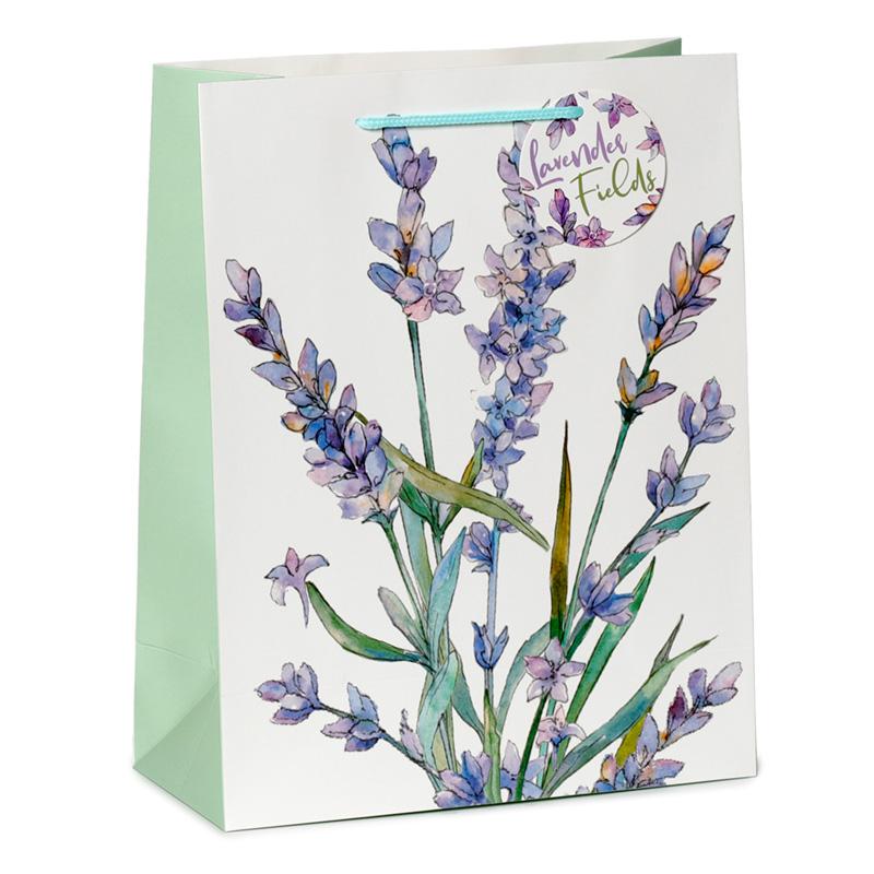 Lavender Fields Large Gift Bag