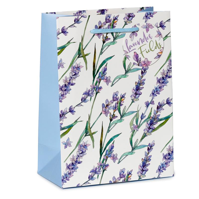 Lavender Fields Medium Gift Bag
