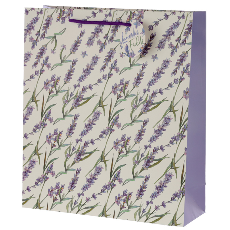 Lavender Fields Extra Large Gift Bag