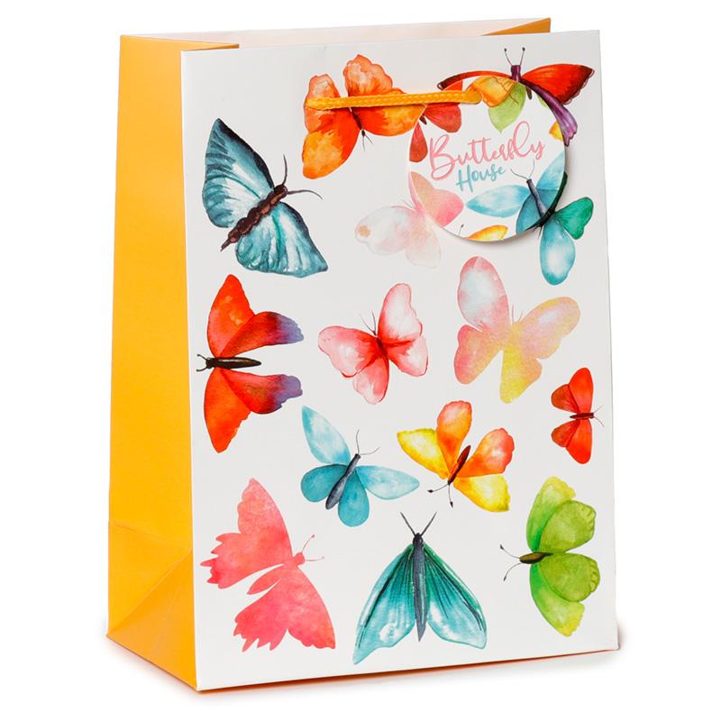 Butterfly House Medium Gift Bag