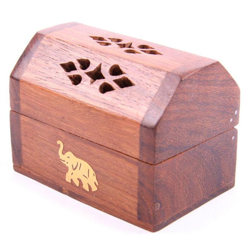 Decorative Sheesham Wood Mini Box