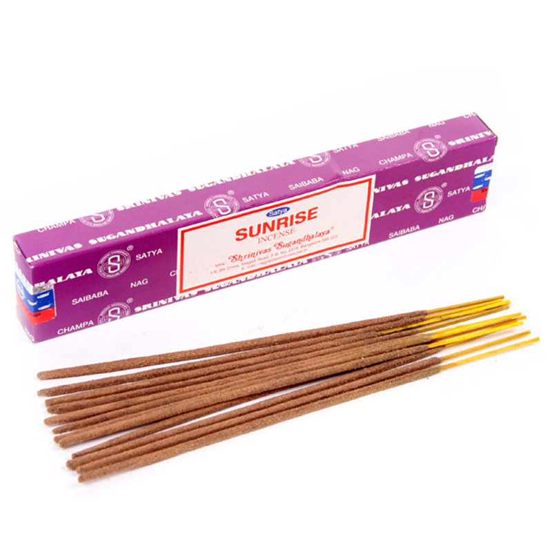 Satya Nag Champa Incense Sticks Sunrise