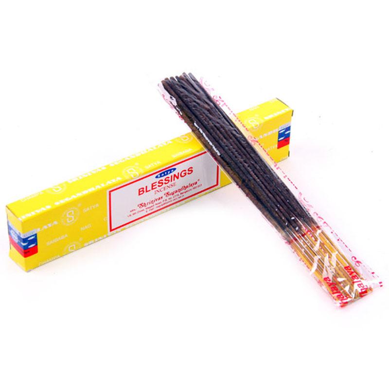 Satya Nag Champa Incense Sticks Blessing