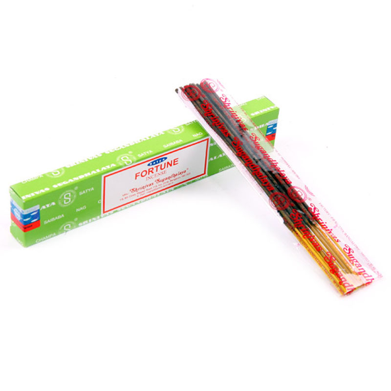 Satya Nag Champa Incense Sticks Fortune
