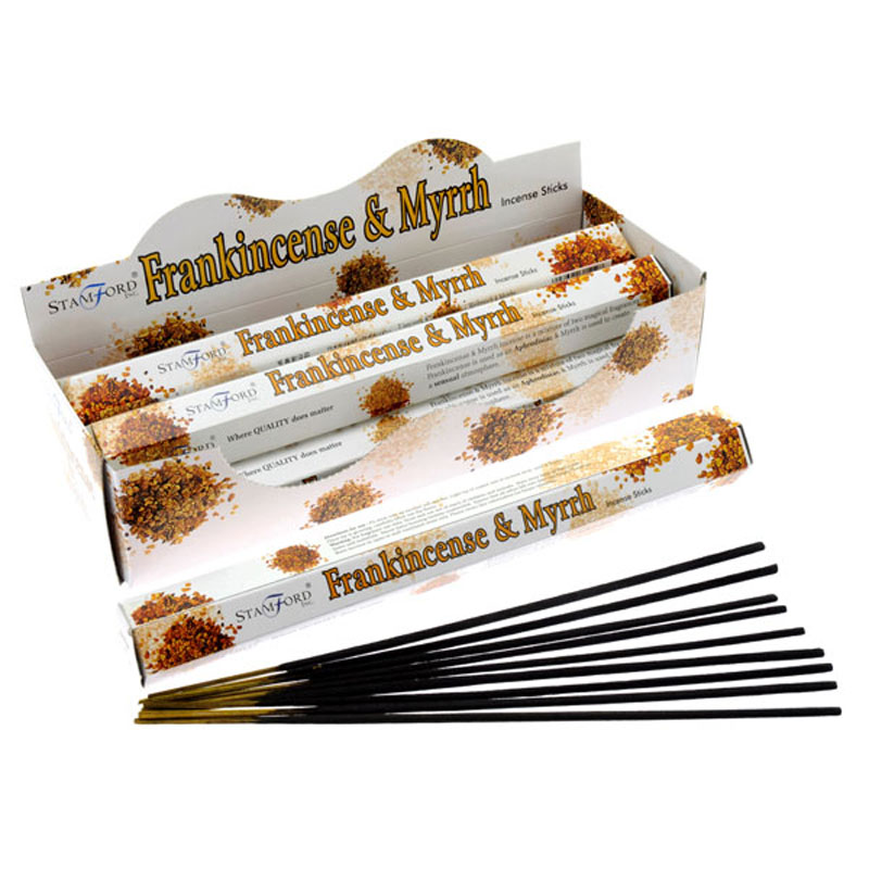 Stamford Hex Incense Sticks Frankincense and Myrrh