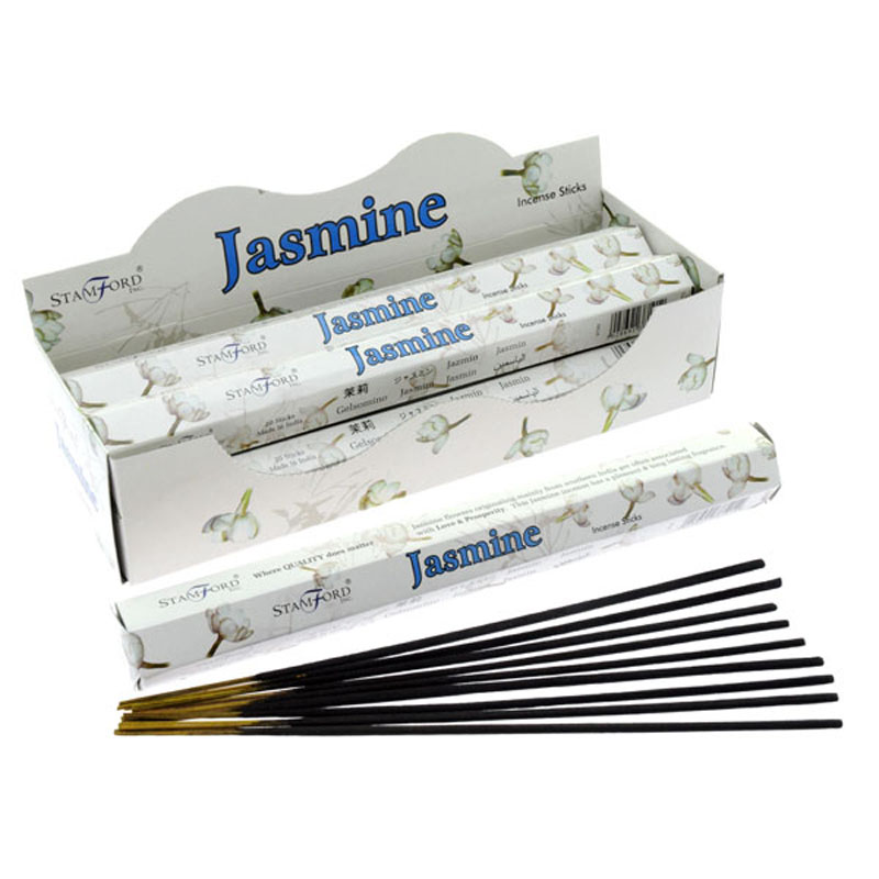 Stamford Hex Incense Sticks Jasmine