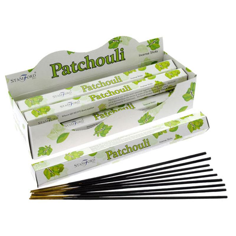 Stamford Hex Incense Sticks Patchouli