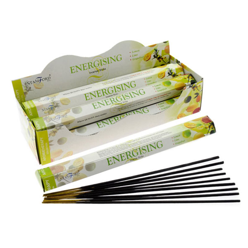 Stamford Hex Incense Sticks Energising