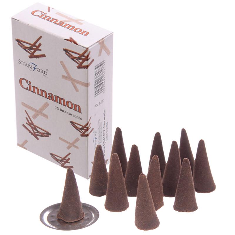 Stamford Hex Incense Cones Cinnamon