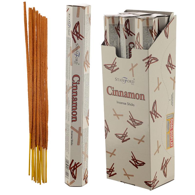Stamford Hex Incense Sticks Cinnamon