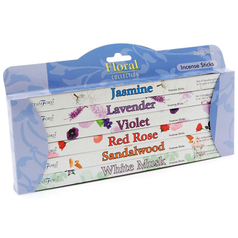 Stamford Incense Sits Gift Pack Floral