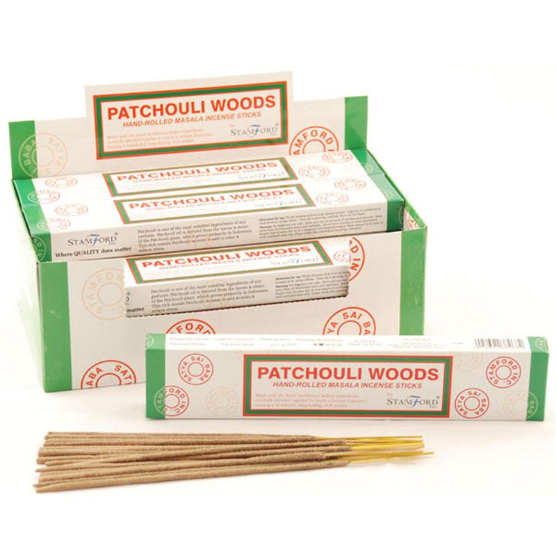 Stamford Masala Incense Sticks Patchouli Woods