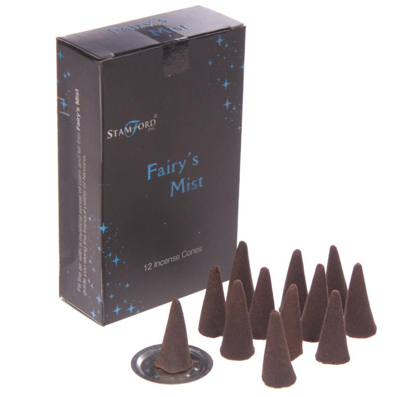 Stamford Black Incense Cones Fairys Mist