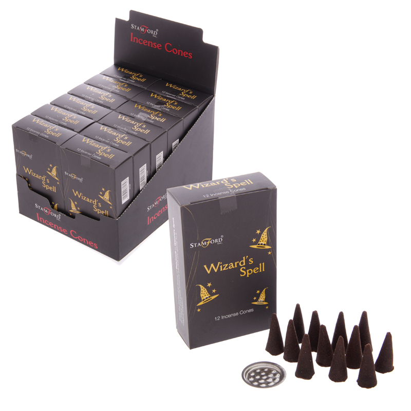 Stamford Black Incense Cones Wizards Spell