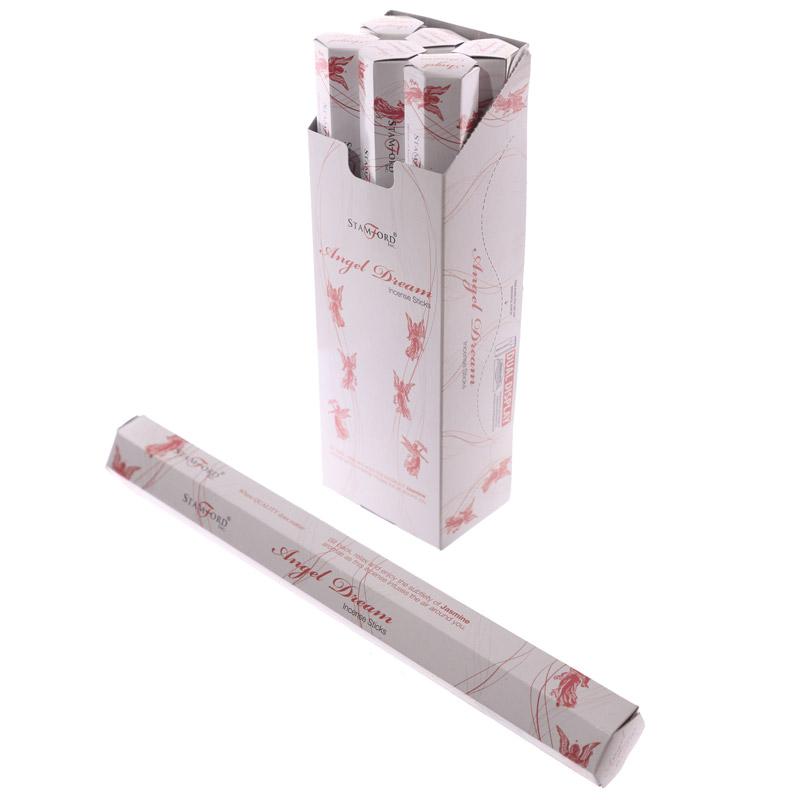 Angel Dream Stamford Hex Incense Sticks