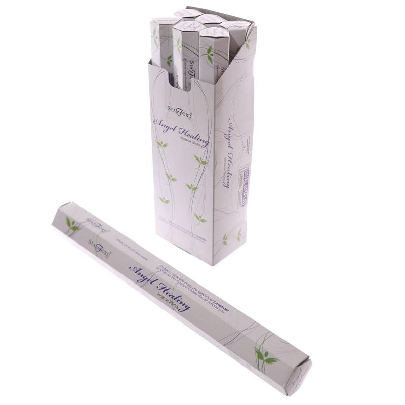 Angel Healing Stamford Hex Incense Sticks, Sticks & Cones