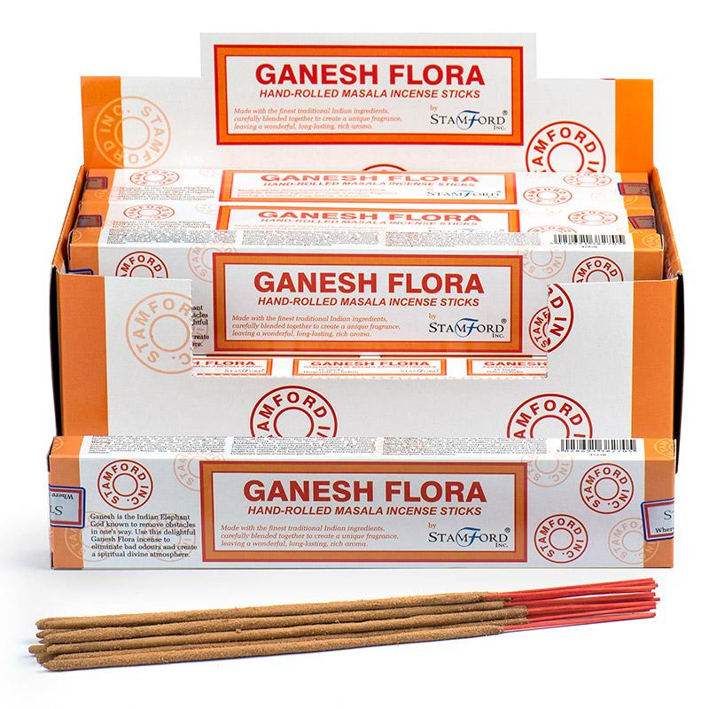 Stamford Masala Incense Sticks Ganesh Flora
