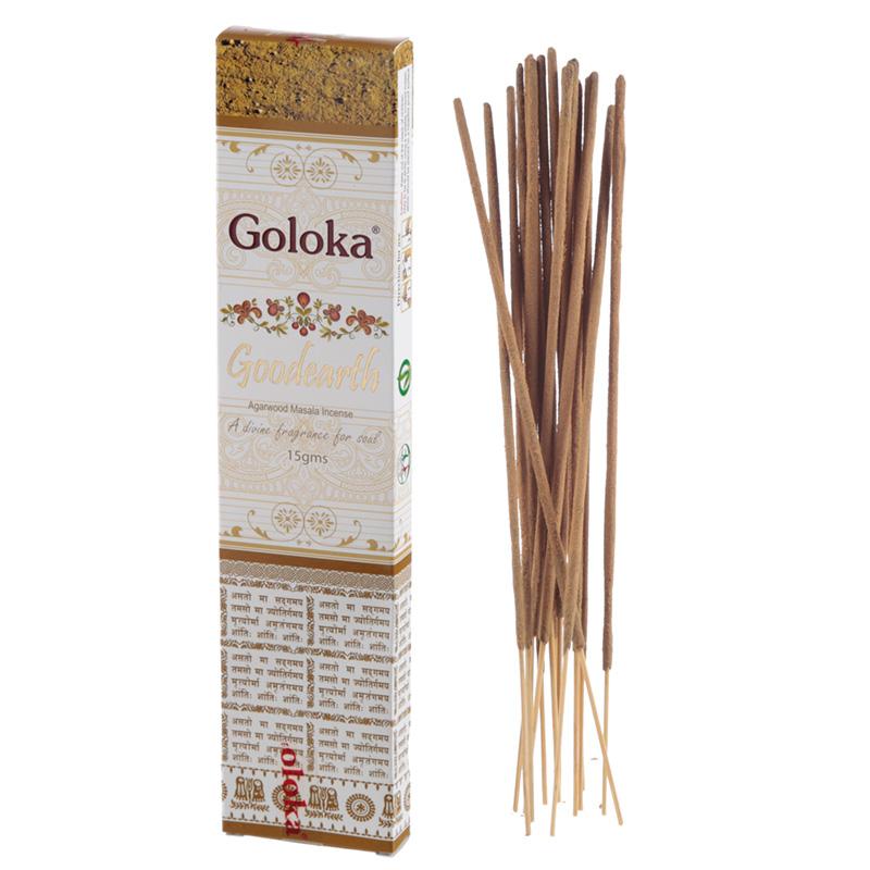 Goloka Masala Incense Sticks Goodearth Agarwood