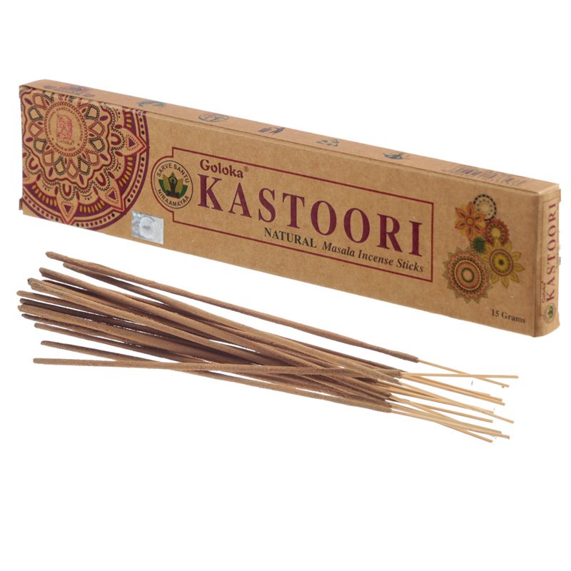 Goloka Incense Sticks Kastoori