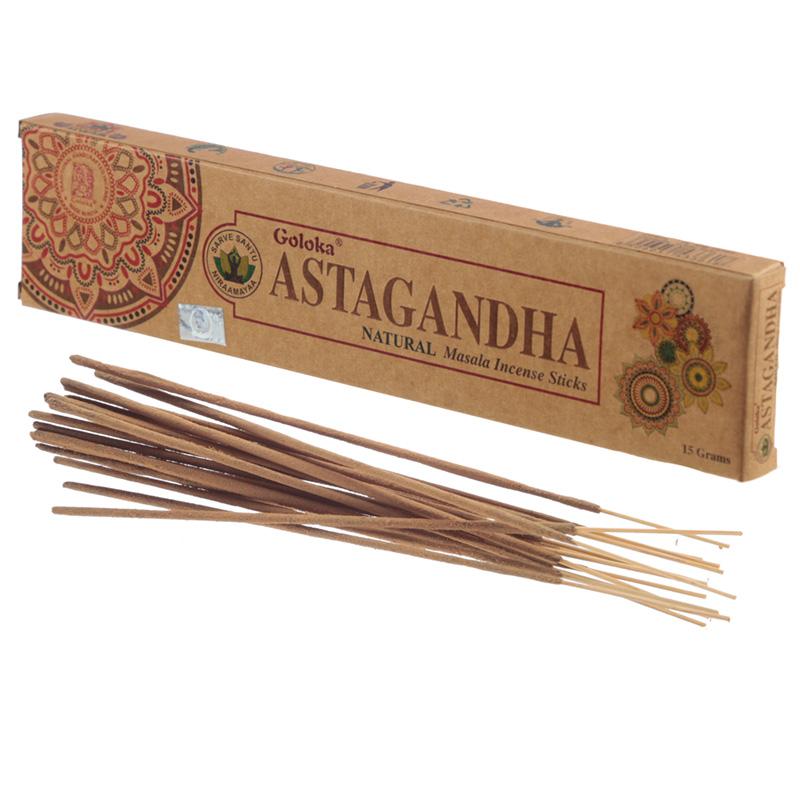Goloka Incense Sticks Astagandha