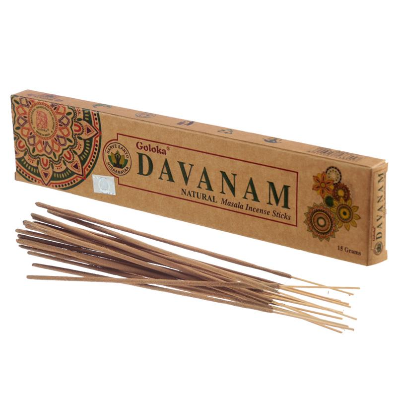 Goloka Incense Sticks Davanam