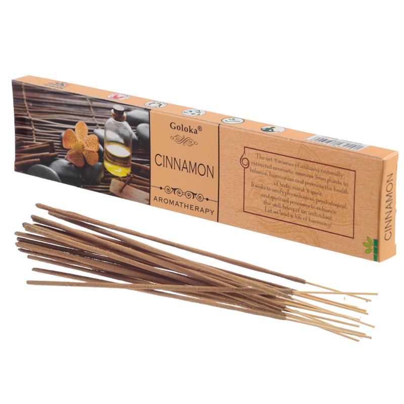 Goloka Incense Sticks Cinnamon