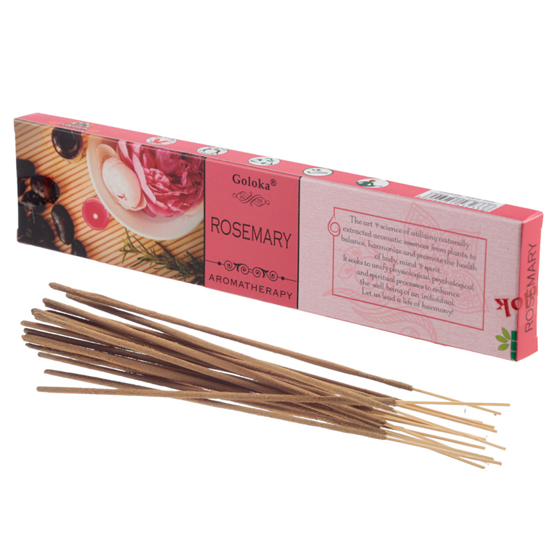 Goloka Incense Sticks Rosemary