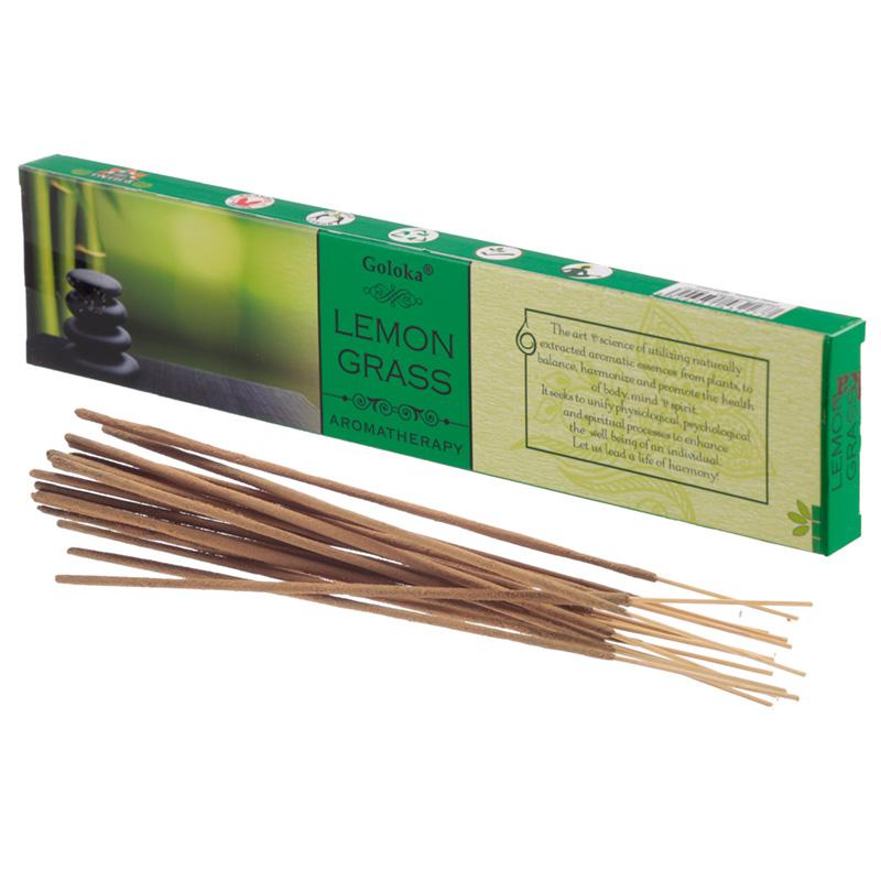 Goloka Incense Sticks Lemongrass