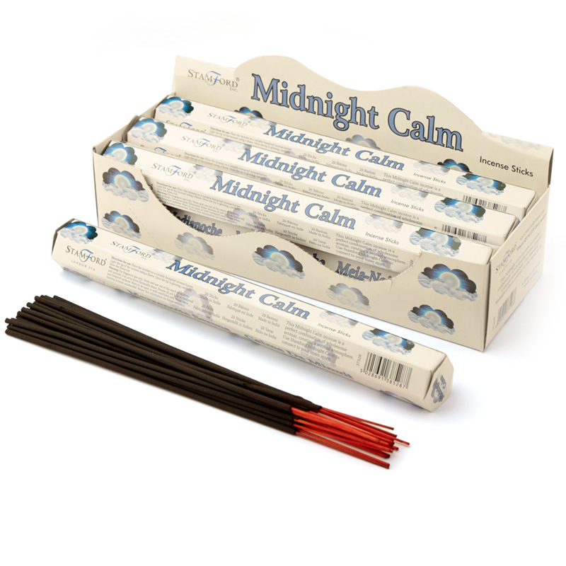 Stamford Hex Incense Sticks Midnight Calm
