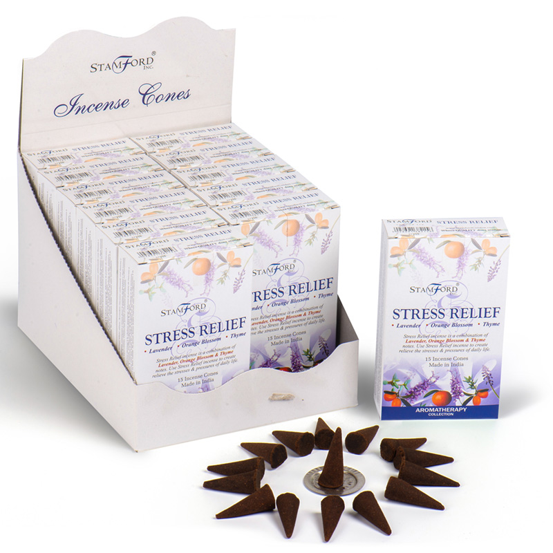 Stamford Hex Incense Cones Stress Relief