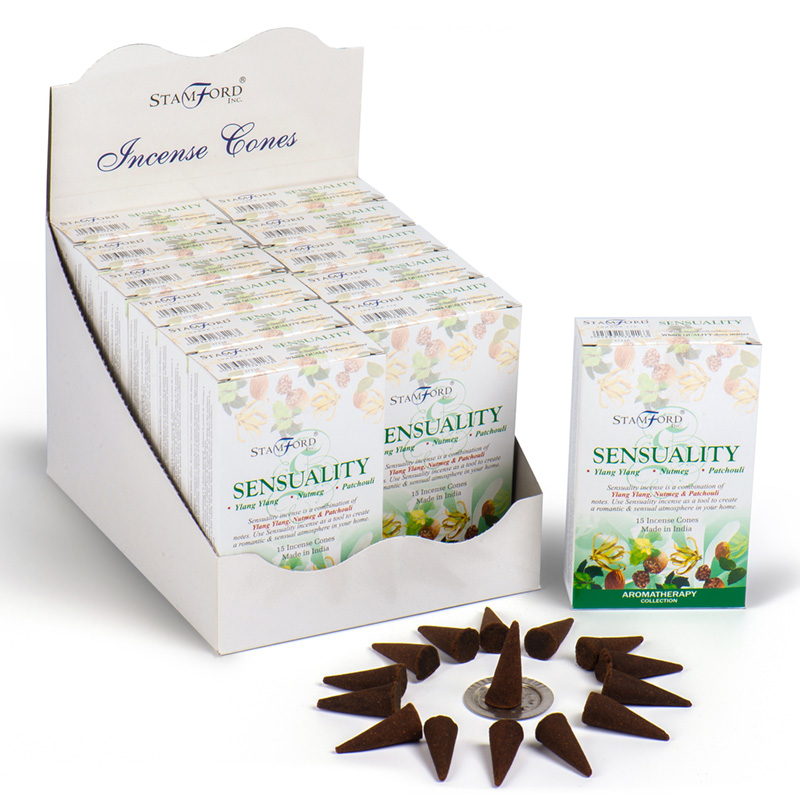 Stamford Hex Incense Cones Sensuality