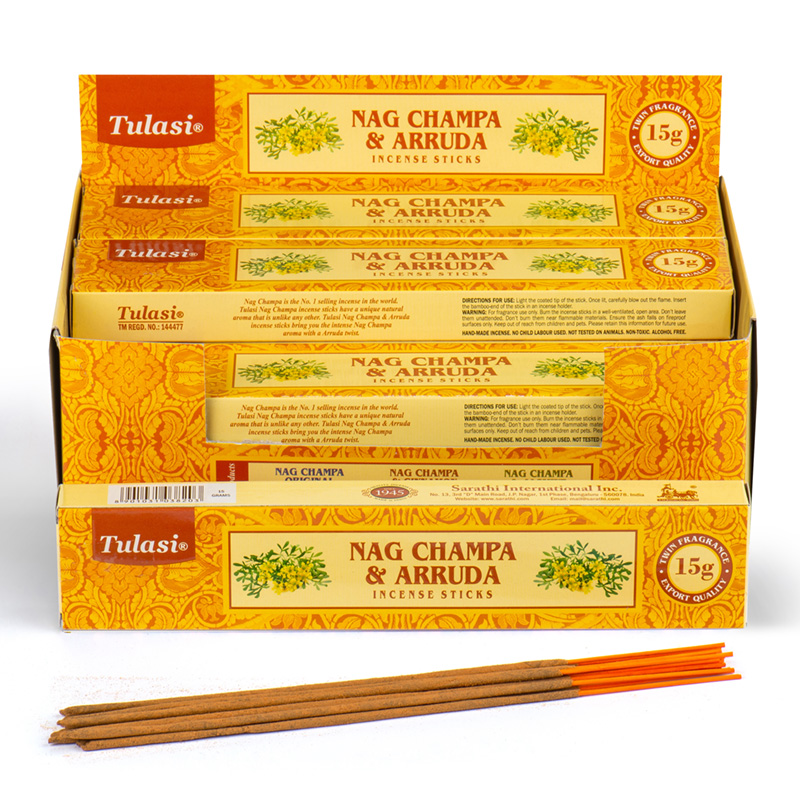 Nag Champa Tulasi Incense Sticks Arruda