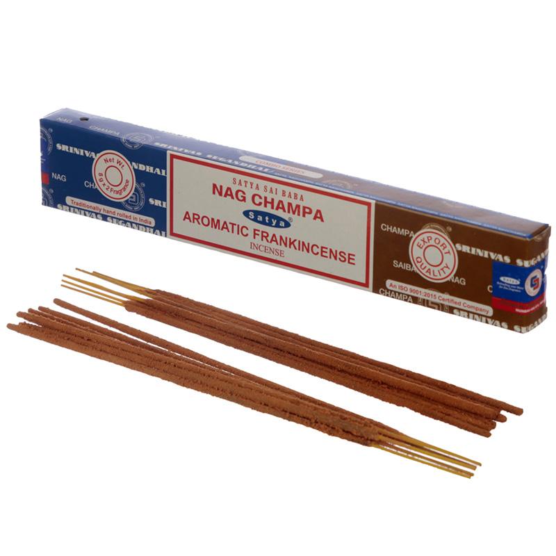 Satya Incense Sticks Nag Champa  Aromatic Frankincense