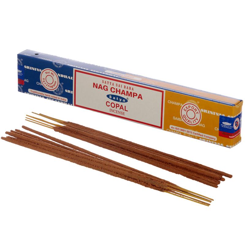Satya Incense Sticks Nag Champa  Copal