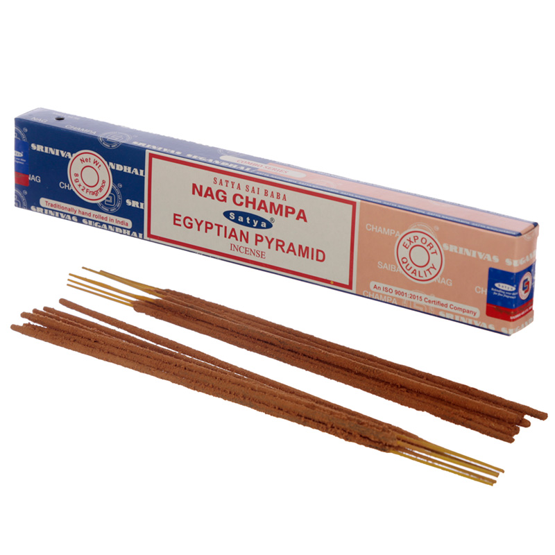 Satya Incense Sticks Nag Champa  Egyptian Pyramid