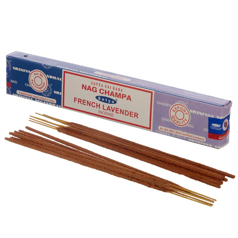 Satya Incense Sticks Nag Champa  French Lavender
