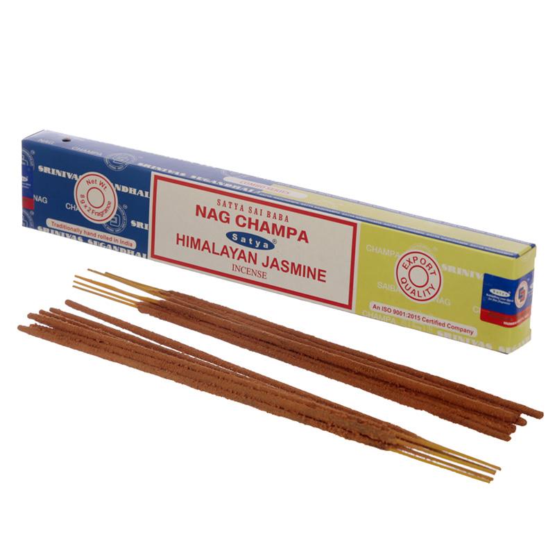 Satya Incense Sticks Nag Champa  Himalayan Jasmine