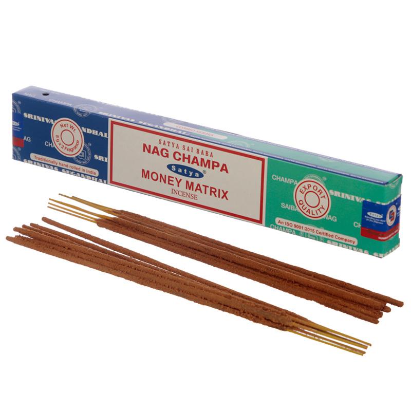 Satya Incense Sticks Nag Champa  Money Matrix