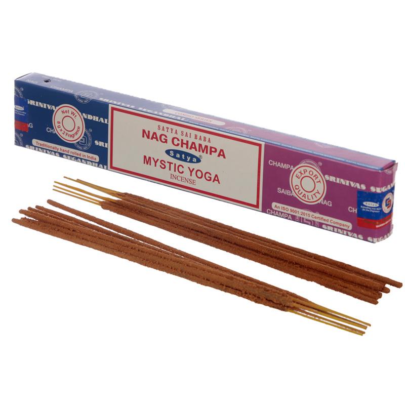 Satya Incense Sticks Nag Champa  Mystic Yoga