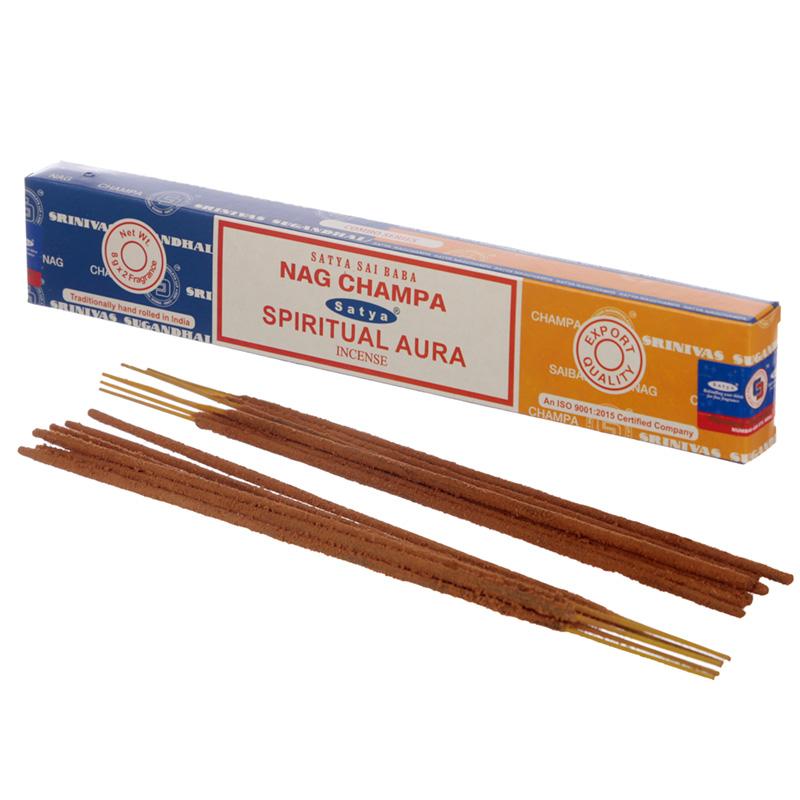 Satya Incense Sticks Nag Champa  Spiritual Aura