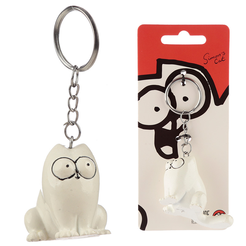 Fun Collectable Simons Cat Keyring