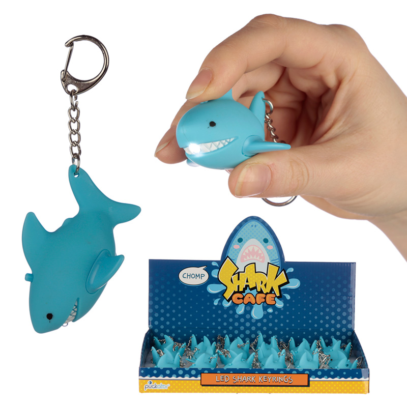 Roaring Shark Light and Sound Keyring