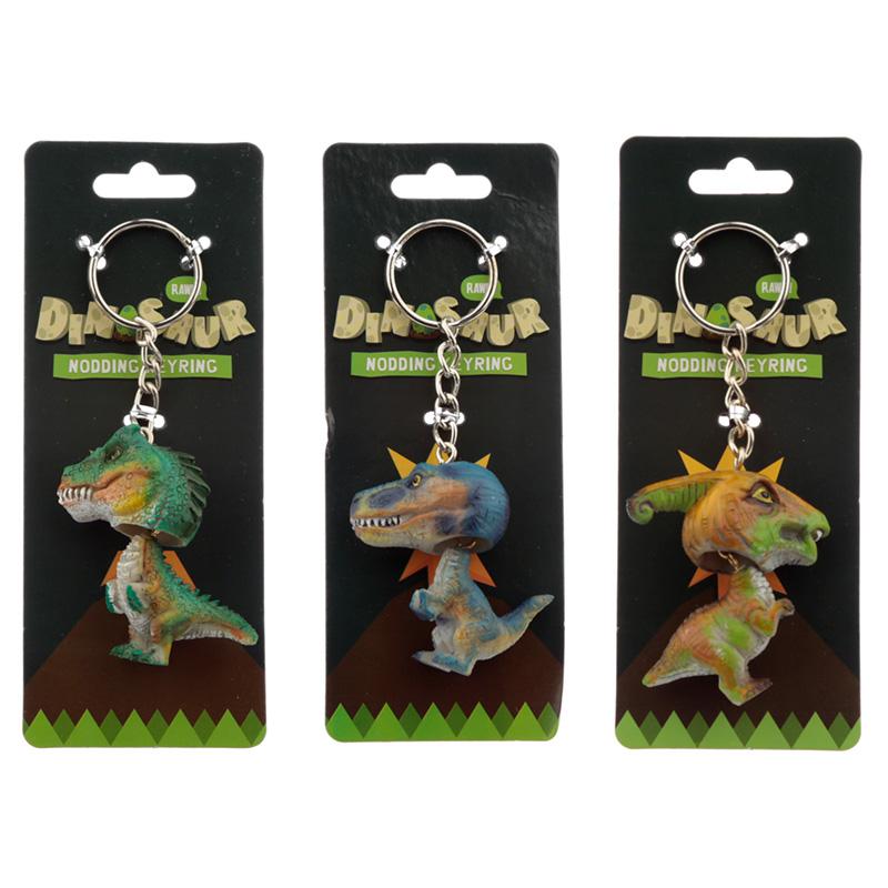 Collectable Nodding Dinosaur Keyring
