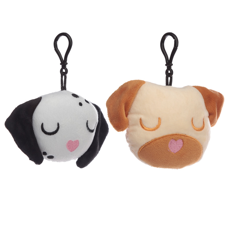Plush Dog Squad Sound Keyring