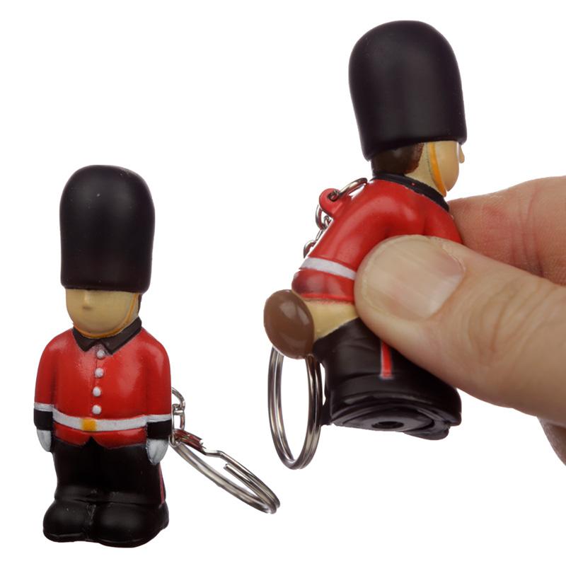 Fun Collectable London Guardsman Pooping Keyring