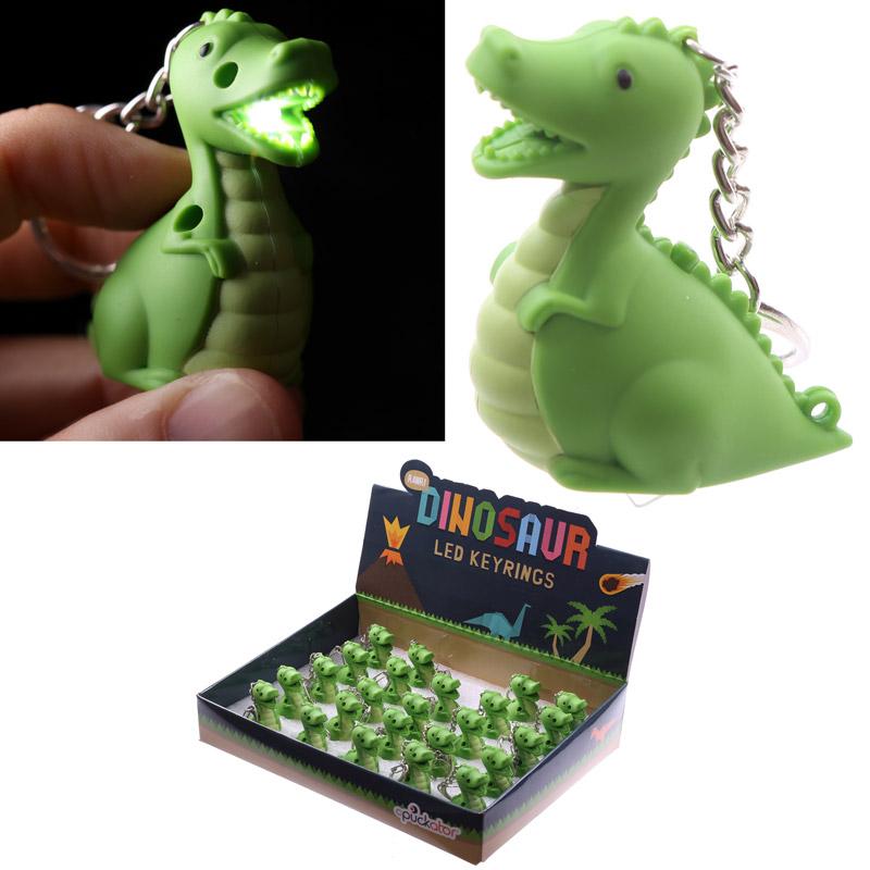 Novelty LED Keyring Dinosaur