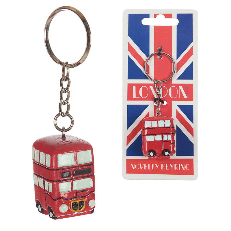 Fun Novelty London Routemaster Bus Keyring