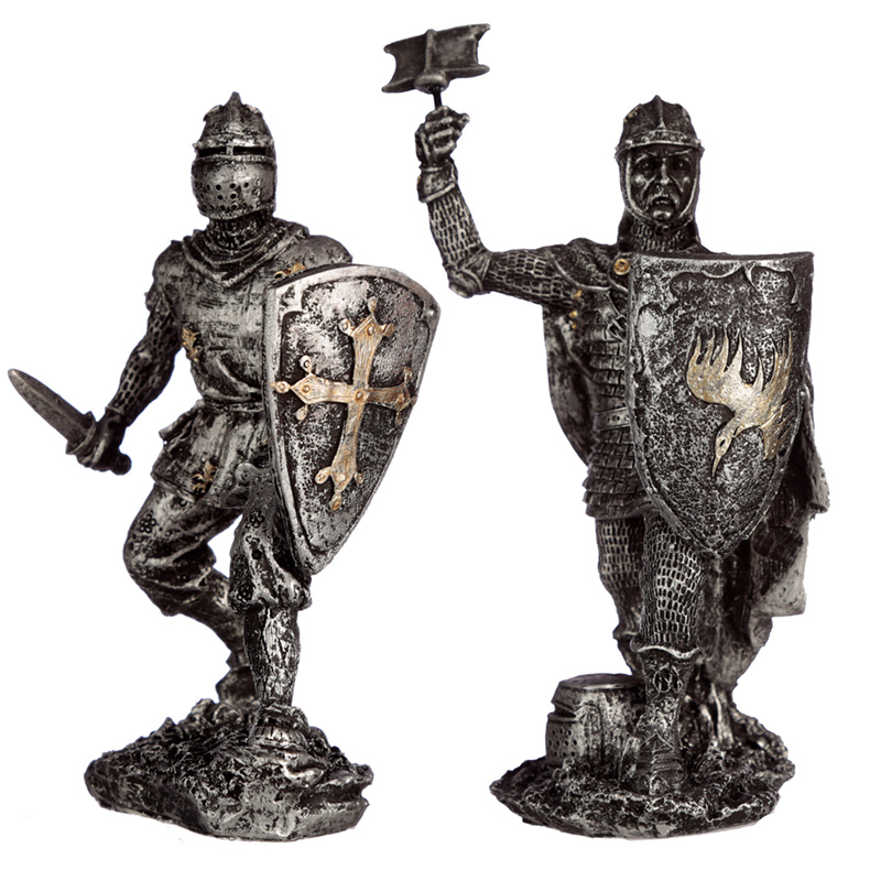 Collectable Fighting Knight Figurine